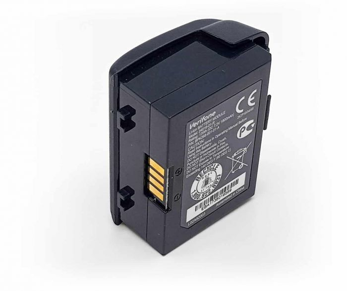 Batterij - Verifone Vx680 achterkant