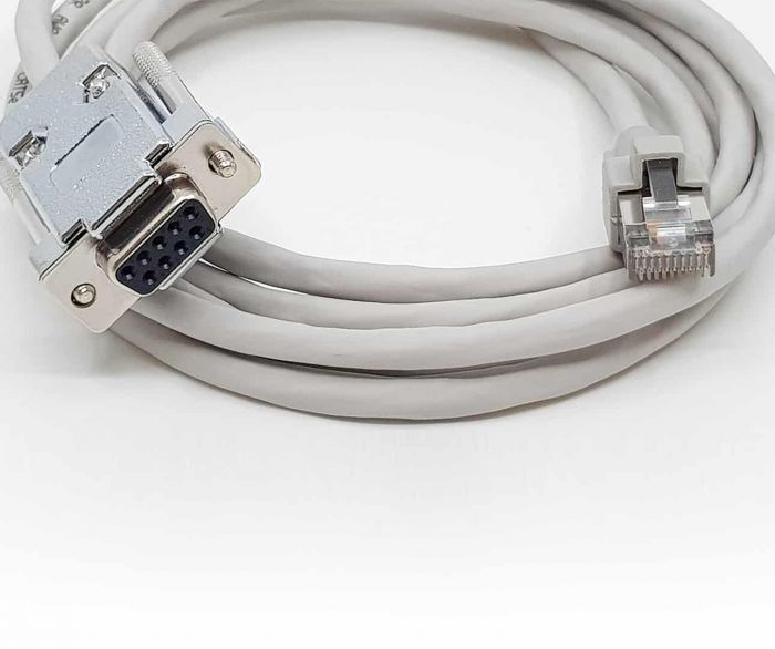 Kassakoppelingskabel seriële kabel  - Verifone Vx570 + Vx810/20 dichtbij