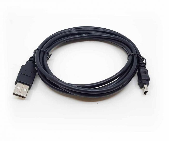Kassakoppelingskabel USB - Verifone Vx520 + Vx820 opgerold